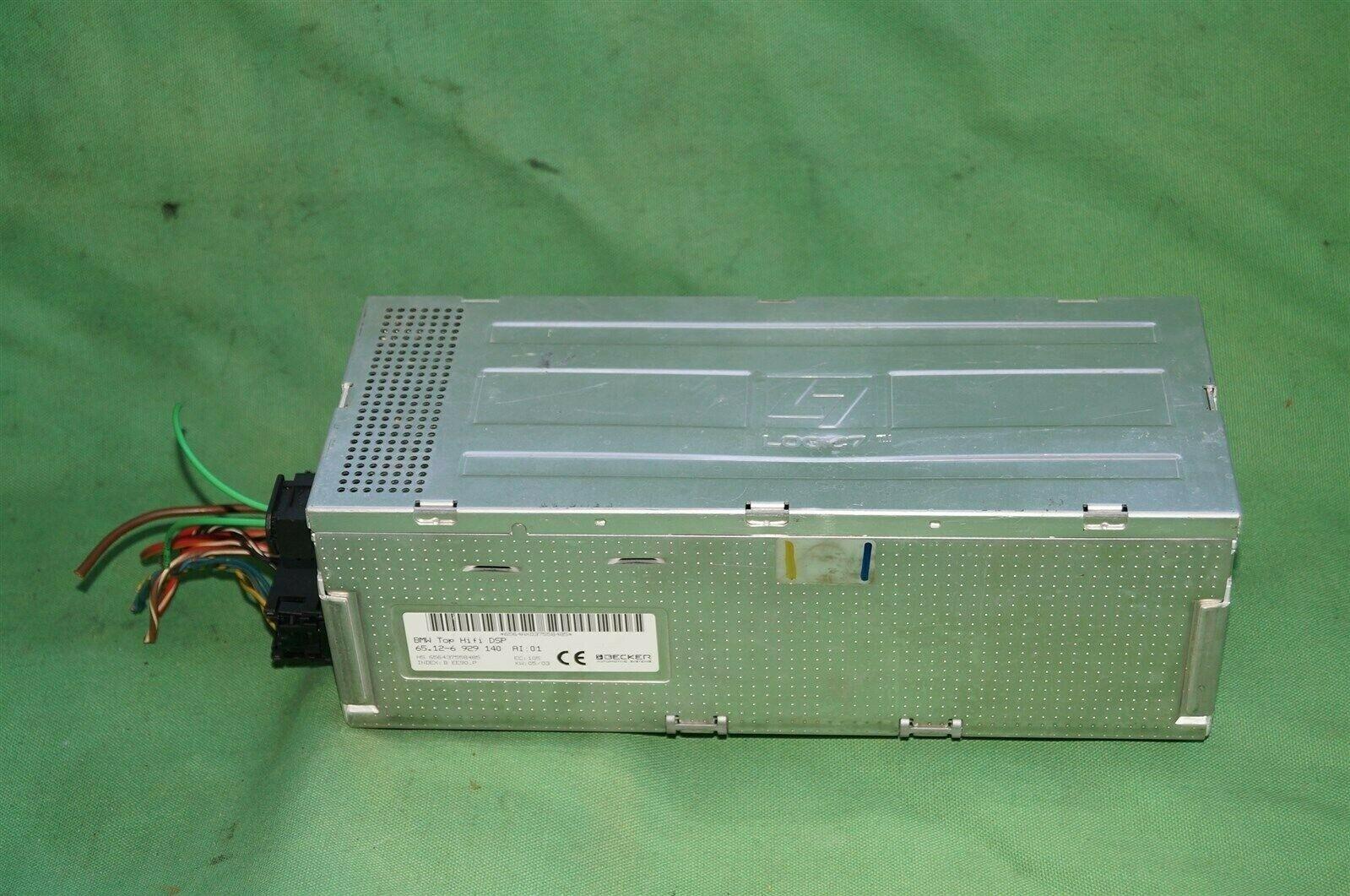 BMW Top Hifi DSP Logic 7 Amplifier Amp 65.12-6 929 140 Herman Becker