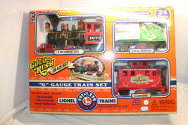 Lionel Trains Gold Rush G Gauge Train Set - $24.99