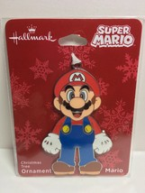 Hallmark Super Mario Flat Metal Christmas Ornament, 2018 NWT  M2 - $11.03