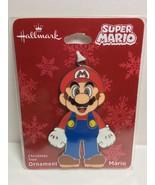 Hallmark Super Mario Flat Metal Christmas Ornament, 2018 NWT  M2 - $9.46