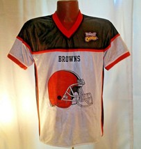 NFL Cleveland Browns Reversible Youth Flag Football Jersey Large - $25.00