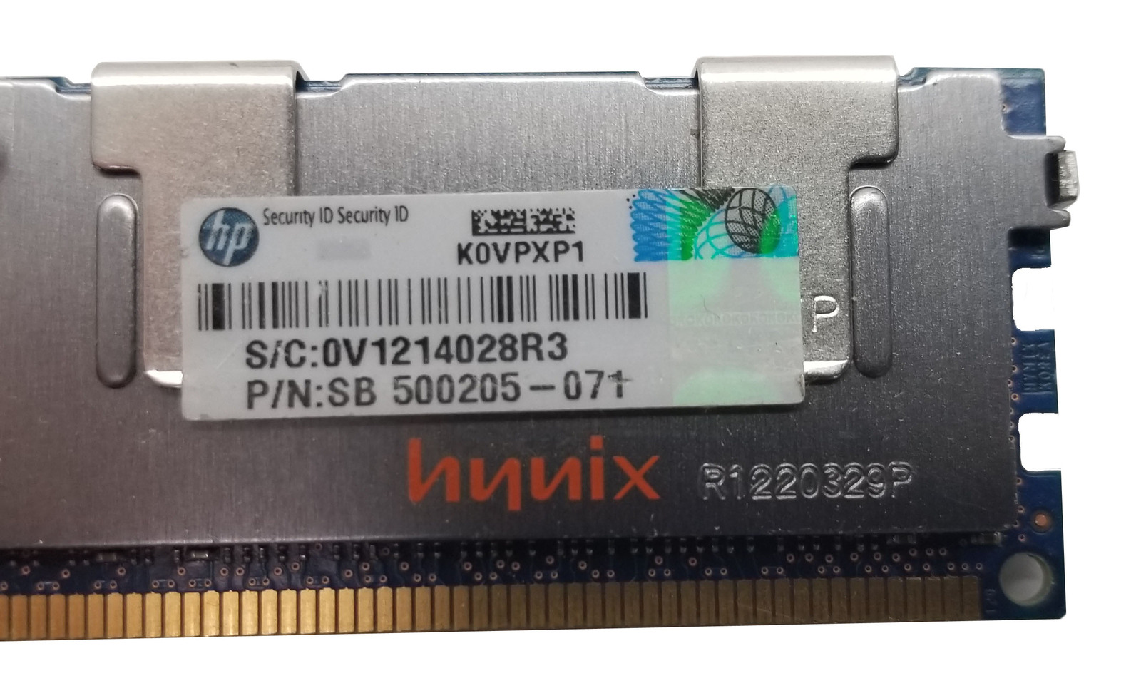 Hynix 8GB 2Rx4 PC3-10600R-9-10-E1 RAM (HMT31GR7BFR4C) Bin:4
