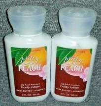 NEW 2-Pack PRETTY AS A PEACH Travel Body Lotion Bath & Body Works - $13.00