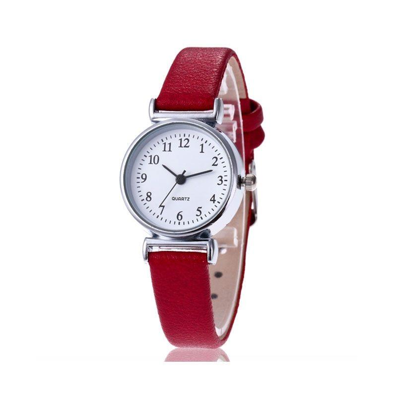 New Luxury Brand Women Watch Ultra Thin Vintage Leather Band Quartz Watch Fashio image 6