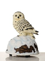 The San Francisco Music Box Company Snow Owl Wildlife Figurine - $19.88