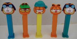 PEZ Vintage Garfield Collectible Dispensers (5) - $5.99