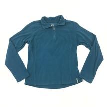 Columbia 1/4 Zip Polo Fleece Pullover Women's Small S Athleisure Hiking ... - $14.03