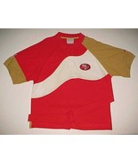 San Francisco 49ers NFL NFC West Apex One Pro Line Red Gold White Polo S... - $39.59