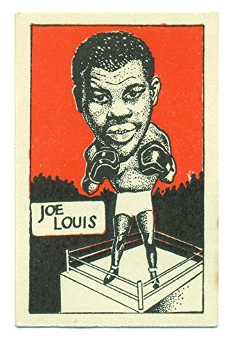 1947 D. Cummings & Son Joe Louis Famous Fighters #1 - Ungraded Boxing Card