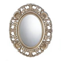 Wall Decor Mirror, Bathroom Decorative Big Antique Mirrors Wall Art (gold) - $46.33