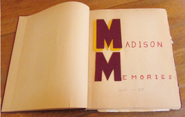 Handmade 1948 Madison Elementary Yearbook Phoenix AZ Handmade -A1 - $29.99