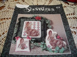 Shenanigans Rosie Rabbit Cross Stitch Leaflet - $5.00