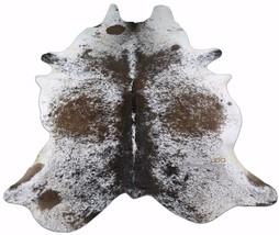 Longhorn Cowhide Rug Size: 7.5' X 6.5' Speckled Longhorn Cow Hide Skin R... - $345.51