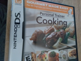 Nintendo DS Personal Trainer: Cooking image 1