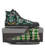Harry Potter - Slytherin - Canvas Printed Shoes - $49.99+