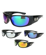 Locs Mens Colored Mirror Lens Classic 90s Gangster Cholo Sunglasses - $9.95