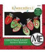 Kimberbell KD607 Christmas Light Advent Banner (Machine Emb. CD) - $9.85