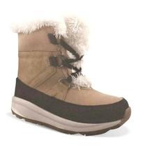 Cat & Jac Tan Girls' Kasey Faux Fur Thermolite Winter Boots