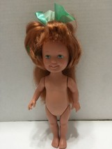 Vtg Doll Dolly Sursprise Polly Grow Hair Red Freckled Playskool 1987 - $7.69