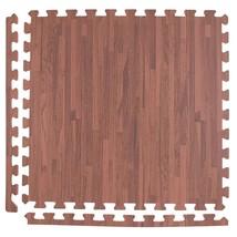 IncStores Soft Wood Foam Tiles 2ft x 2ft Interlocking Floor Tiles With E... - $498,01 MXN