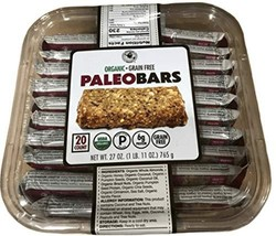 Organic Grain Free PALEO BARS 20 Bars