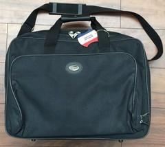 Black AMERICAN TOURISTER Carry On Luggage Travel Bag Shoulder Strap Zipp... - $14.85