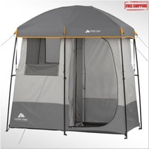 Camping Shower Tent 2 Room Portable Toliet Gene... - $94.88