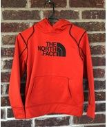 Orangish Reddish The North Face Hoodie Size Youth Medium - $15.00