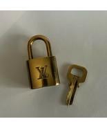 LOUIS VUITTON LOCK & KEY BRASS #308 - $65.00