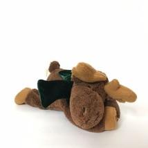 """Dan Dee Collector's Choice Moose Plush Stuffed Animal 11"""" Laying Green Scarf  - $17.82"""