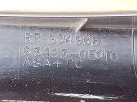 05 Lexus RX330 Roof Rack Rail End Cap Caps Covers Cover Set image 7