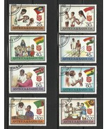 Antigua 1988 Scott # 1083-90 Complete Set used or CTO - $3.50