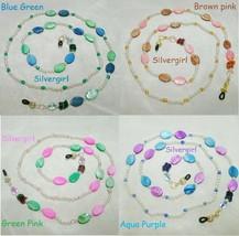 Colorful Hand Beaded Eye Glass Chains - $5.75+