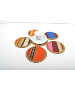 kilim coaster,drink coasters,coffee Coaster,handmade,Kilim Coaster,4,5 ... - $29.00