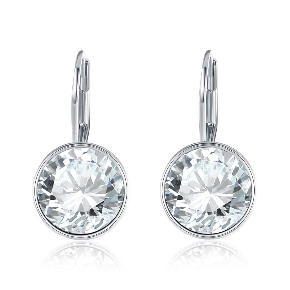 Baby Mini Bella Women Crystal Earrings Made with SWAROVSKI® Crystals image 3