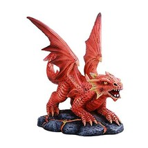 Pacific Giftware Anne Stokes Age of Dragons Fire Dragon Wyrmling Home Tabletop D - $23.75