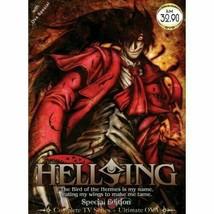 Hellsing TV 1 - 13 End (English Dub ) +Ultimate OVA (Japanese Dub) Ship From USA