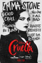 Cruella Poster Disney Film 2021 Emma Stone Emma Thompson Character Art Print #7 - £7.89 GBP+