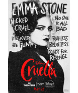 Cruella Poster Disney Film 2021 Emma Stone Emma Thompson Character Art P... - £7.89 GBP+