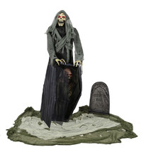 LifeSize Halloween GRAVEYARD REAPER ANIMATED PROP SEE VIDEO - €260,59 EUR