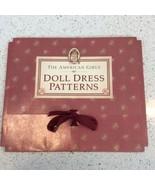 Vintage American Girl Doll MOLLY Dress Patterns 4 Uncut Pleasant Co Rain... - $34.88