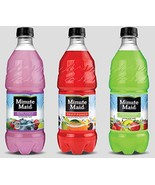 Minute Maid Fruit Punch - 6, 20 ounch Bottles (3 Flavor Variety Pack) - $29.69