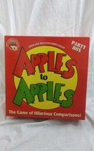 APPLES TO APPLES Party Box Family Board Game Brand New Mattel 2004 - $15.64