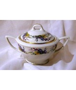 Arcadian Spring Glory Covered Sugar Bowl - $13.22