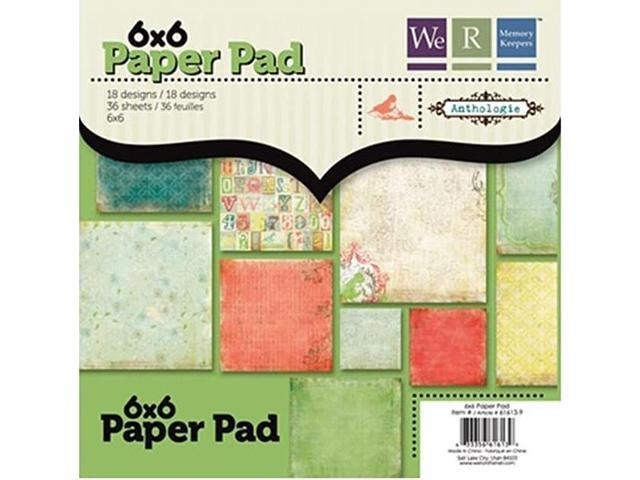 We R Memory Keepers Anthologie 6x6 Paper Pack