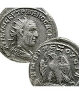 TRAJAN DECIUS Tetradrachm Extra RARE 2 in Prieur 567. Ancient Roman Empi... - $431.10