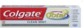 Colgate Total Anticavity Fluoride and Antigingivitis Toothpaste, Clean Mint 6 - $16.83