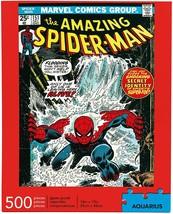 Marvel Spider-Man Cover 500 pieces puzzle Aquarius image 2