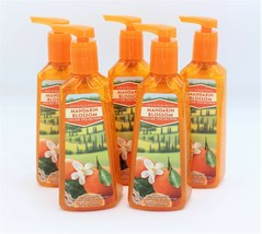 Bath & Body Works Mandarin Blossom Deep Cleansing Hand Soap Antibacterial x5 - $37.99