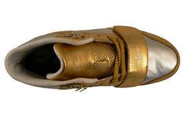Creative Recreation Womens Gold Silver Cesario Hi Top Gym Shoes Sneakers 6US NIB image 6